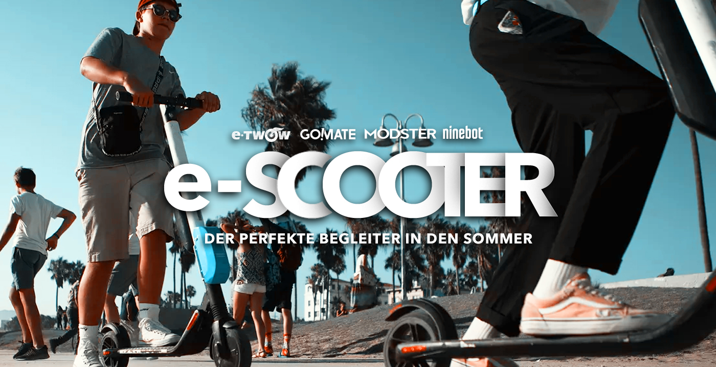 E-Scooter Banner