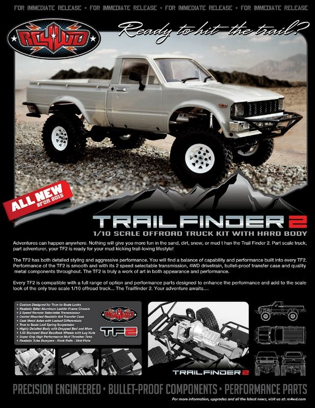 Trail Finder 2 Truck Kit Wmojave Ii Body Set Modellsport Schweighofer