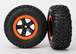 Reifen/Felgen Set SCT black orange beadlock