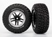 Reifen/Felgen Set SCT Split-Spoke black satin chrome beadlock BFGoodrich Mud-Terrain