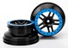 Felgen SCT Split-Spoke black blau beadlock style dual profile
