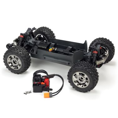 1/10 BIG ROCK CREW CAB 3S BLX 4WD Brushless Monster Truck mit Spektrum RTR Blue