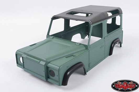 1/10 Land Rover Defender D90 Limited Edition Pre-painted Gre