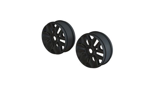 1/8 Buggy Wheel Black (2)