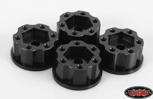 1.9/2.2 6 Lug Steel Wheel Hex Hub +6 Offset