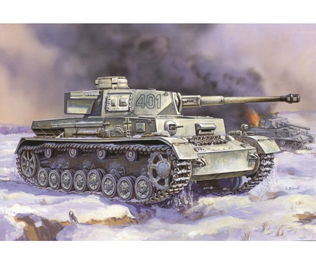 1:100 Panzer IV Ausf. H Add-O