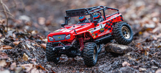 1:12 Mountain Warrior Sport 2.0 2.4 GHz 100% RTR rot