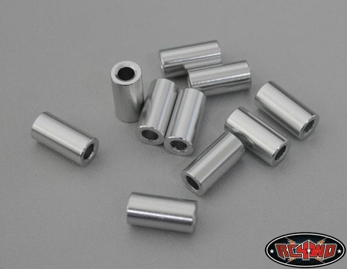 12mm Silver Spacer (10)