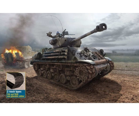 1:35 M4A3E8 Sherman Fury