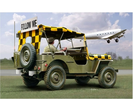1:35 Willys Jeep Follow me Model Set