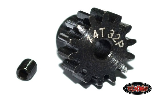 14t 32p Hardened Steel Stiftion Gear