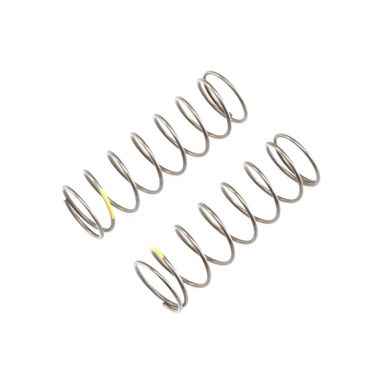 16mm EVO FR Shk Spring, 4.7 Rate, Yellow (2): 8B 4.0