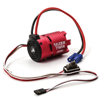 2 in1 Brushless Motor/ESC Combo: 1/10th 2WD, 3000kv