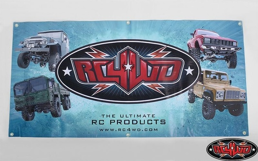 2x4 RC4WD Banner