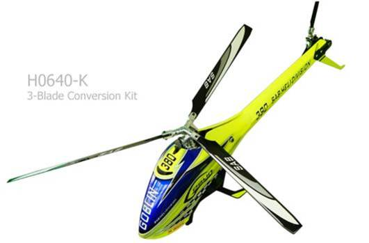 3-Blade Conversion Kit für Goblin 380