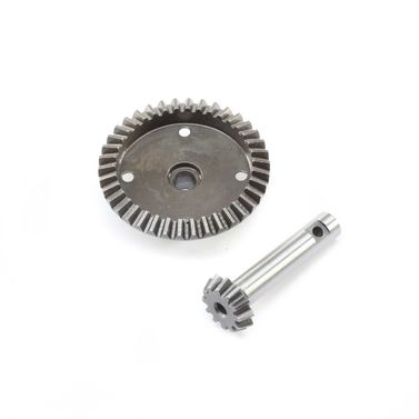 38T Ring & 12T Pinion Gear Fr/Rr: Super Baja Rey