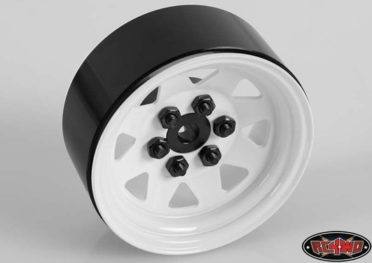 6 Lug Wagon 1.9 Single Steel Stamped Beadlock Wheel (Wh