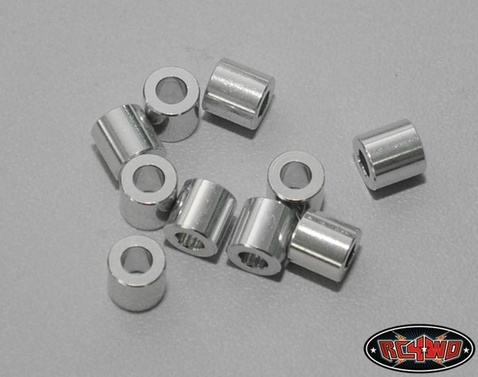 6mm Silver Spacer with M3 Hole (10)