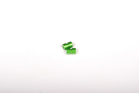 7x10mm Post - Green (2 Stk)