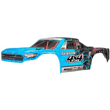 AR402247 Body Pntd Decal Trim Blue Senton 4x4 Mega