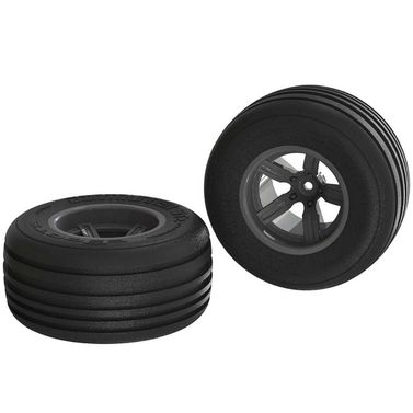 AR550040 Dirt Runner ST Front Tire Set Glued Black