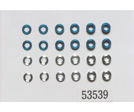 Aluminium Distanz Set 5.5 mm