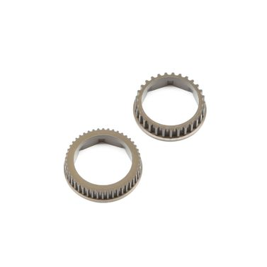 Aluminum Gear Diff Pulley Set: 22-4/2.0