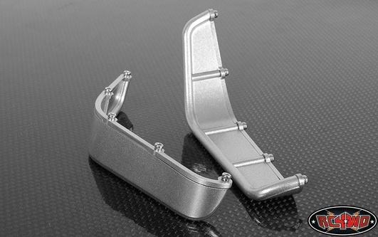 Aluminum Tube Front Fender for Axial Jeep Rubicon (Silver)