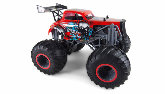 Amewi Crazy Hot Rod Elektro Brushed Monster Truck 2WD 1:16 RTR rot