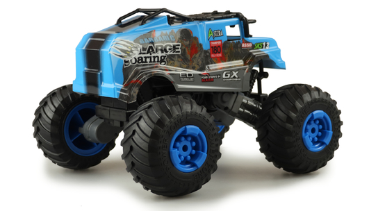 Amewi Crazy SXS13 Elektro Brushed Monster Truck 4WD 1:16 RTR blau