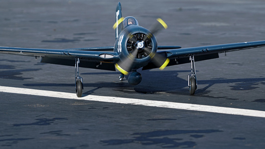 Arrows Grumman F8F Bearcat 1100mm Elektromotor Warbird PUP powered by MODSTER