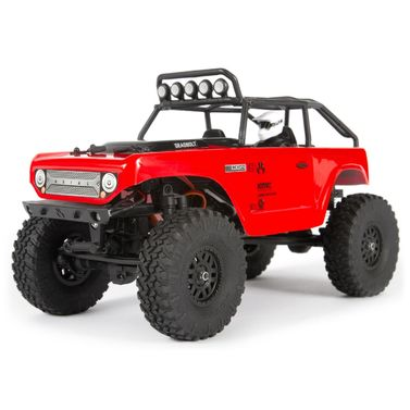 Axial SCX24 Deadbolt Elektro Brushed Crawler 4WD 1:24 RTR rot