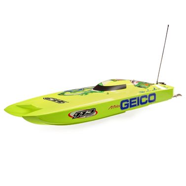 B-Ware* Miss GEICO Zelos 36 Twin Brushless Catamaran: RTR
