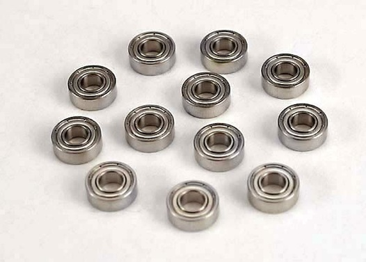 BALL BEARINGS (5x11x4mm) (12)