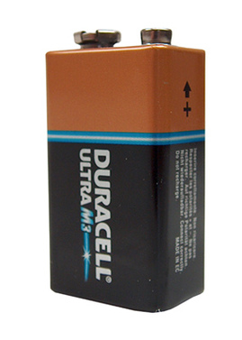 Batterie Duracell Ultra Power 9V Block 1 Stück