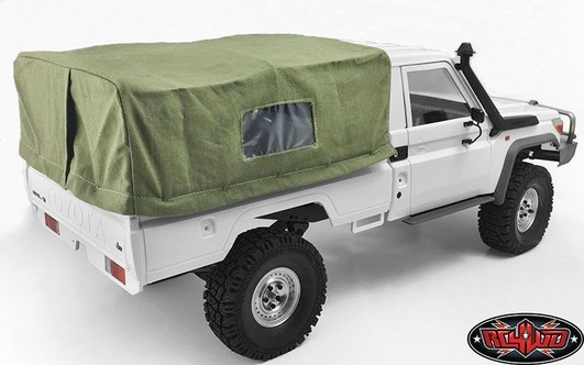 Bed Soft Top w/Cage for Land Cruiser LC70 (Green)