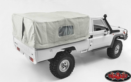 Bed Soft Top w/Cage for Land Cruiser LC70 (White)