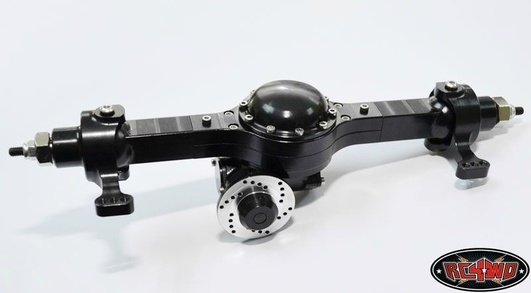 Blackwell X1 Front Scale Axle (Black)