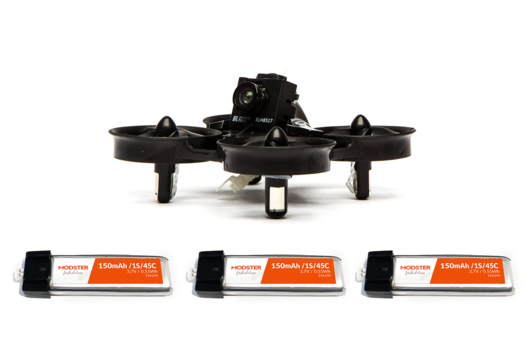 Blade Inductrix FPV Pro Racecopter BNF Combo inkl. 3 Akkus
