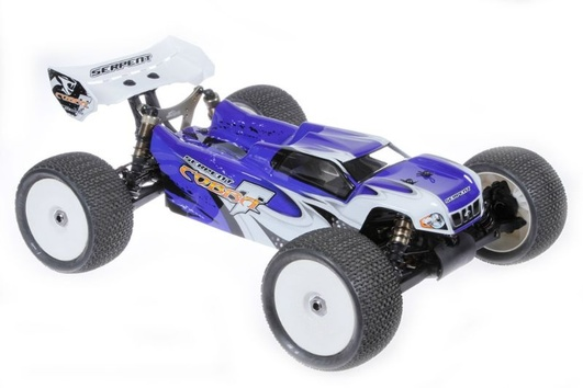 Body 1/8 E-Truggy pre cut blue