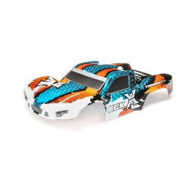 Body, Orange/Blue: Torment: 1: 10 4wd