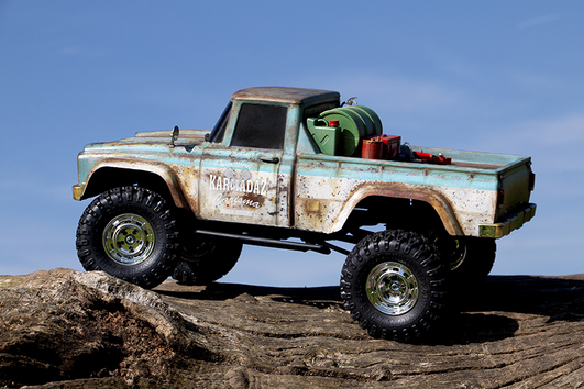 Carisma Adventure - SCA-1E Coyote - 4WD KIT - 1:10 Scale - WB 285mm