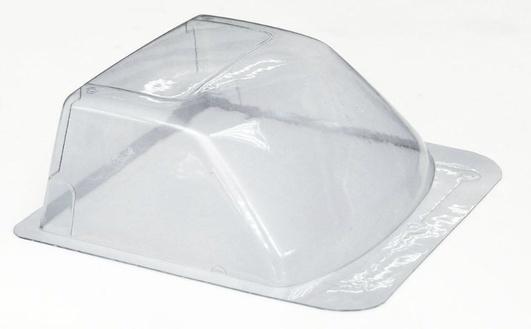 Clear Lexan Windshield for Tamiya Hilux or RC4WD Mojave Body