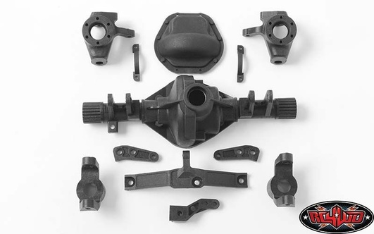 D44 Plastic Front Axle Replacement Parts