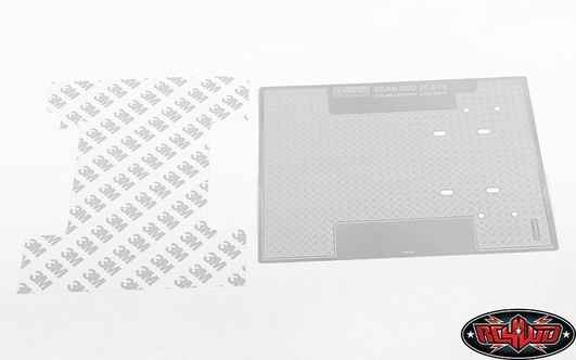 Diamond Plate Rear Bed for RC4WD TF2 LWB Toyota LC70 RC4WD