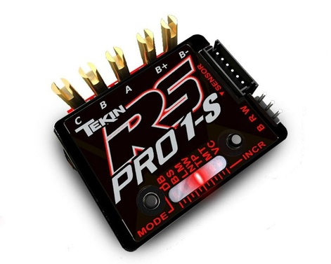 Drehzahlregler RS Pro 1S Black Edition BL Sensored/Sensorless ESC