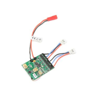 E-flite AS6410NBLT 6-Kanal DSMX/AS3X-Empfänger m. Twin Brushless ESC