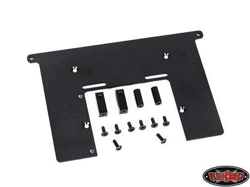 Electronics Top Plate w/Servo Mounts For Trail Finder 2