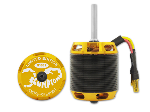 Elektromotor HK-4535-450kv Scorpion  (8mm Welle)