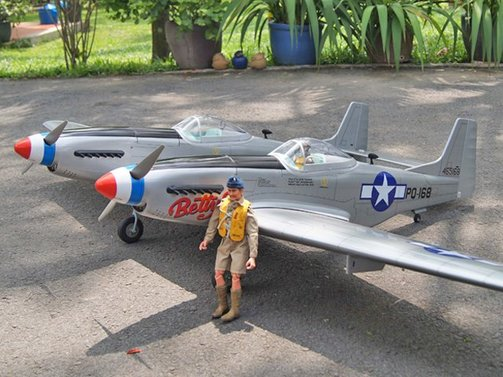 F-82 Twin Mustang 2030 mm ARF